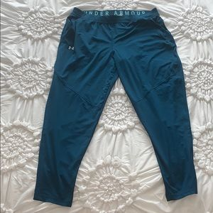 Under armor joggers teal